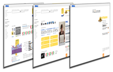 GfK user interface design layouts